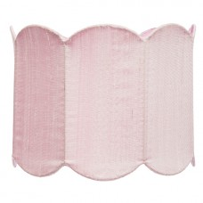 Shade Large Scalloped Drum Pink