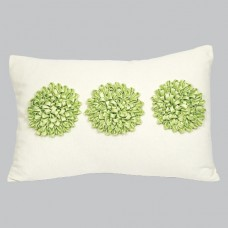 Pillow Dahlia Green