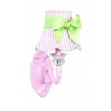 Wall Sconce 1 arm Turret Pink Bright Idea