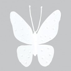 Magnet Butterfly White