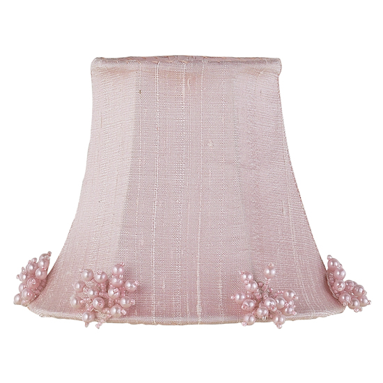 Shade Chandelier Pearl Burst Pink