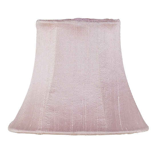 Shade Chandelier Plain Pink