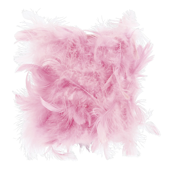 Shade Chandelier Feather Pink