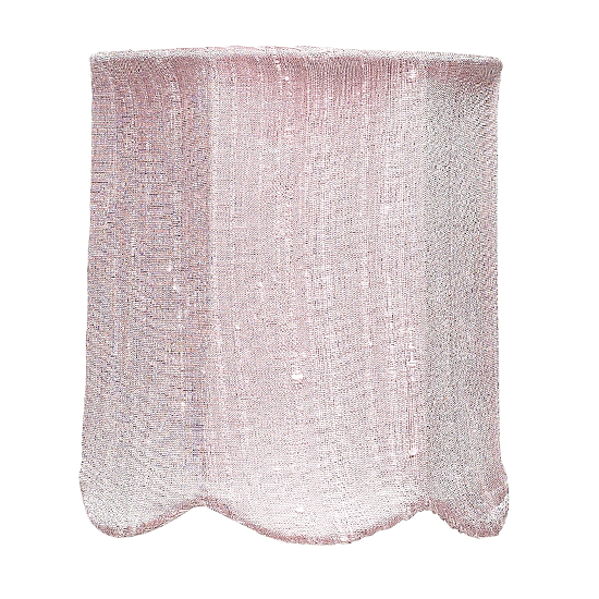 Shade Chandelier Scallop Pink