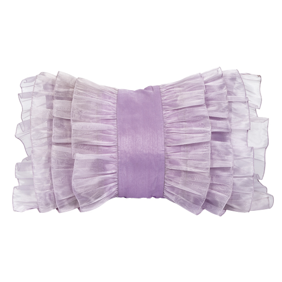 Pillow Ruffle Lavender