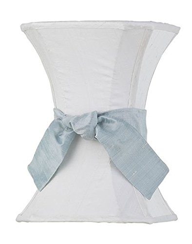 Shade Medium Hourglass White with Blue Sash