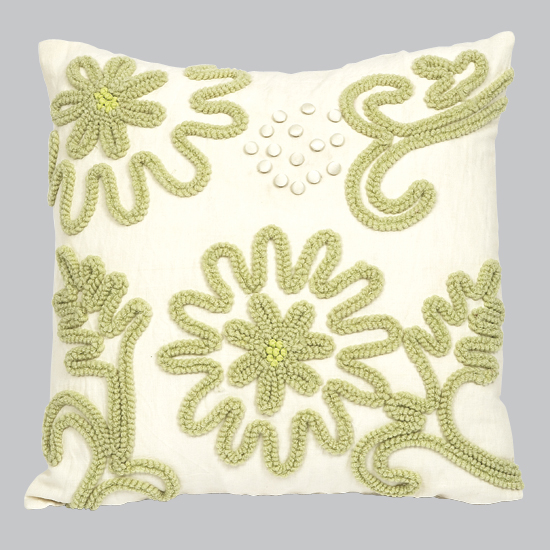 Pillow Chenille Green