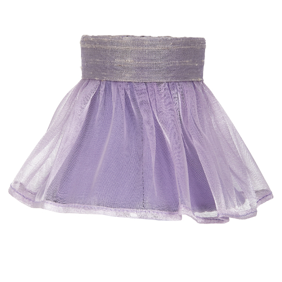 Shade Chandelier Ruffled Skirt Lavender