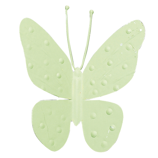 Magnet Butterfly Light Green (Set of Three )