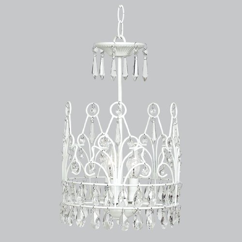 Chandelier Crown 3 light White