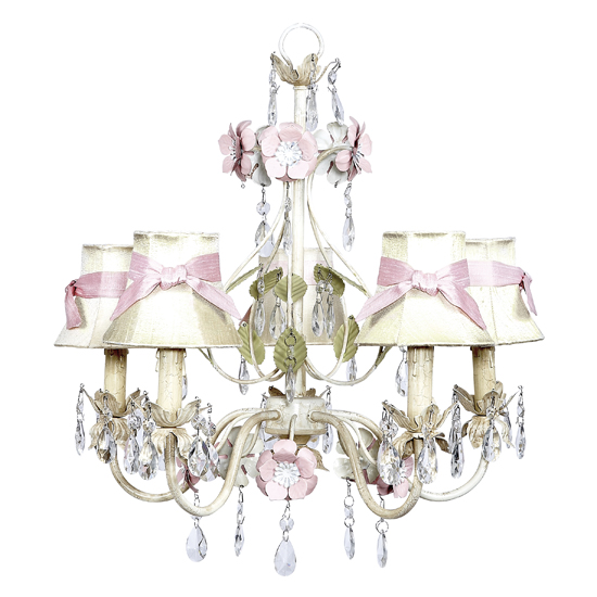 Chandelier Flower Garden 5 Light Multi Bright Idea