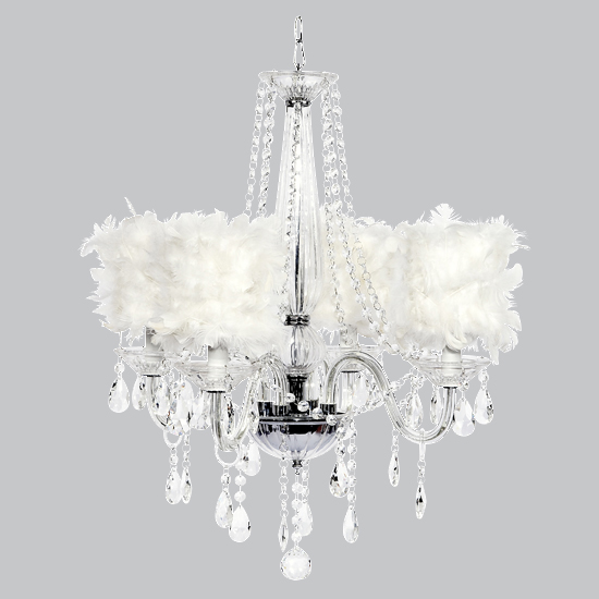 Chandelier Middleton 4 Light Glass Bright Idea
