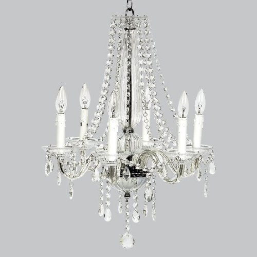 Chandelier Middleton  6 Light Glass