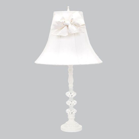 Lamp Base Medium 3 Glass Ball White Bright Idea