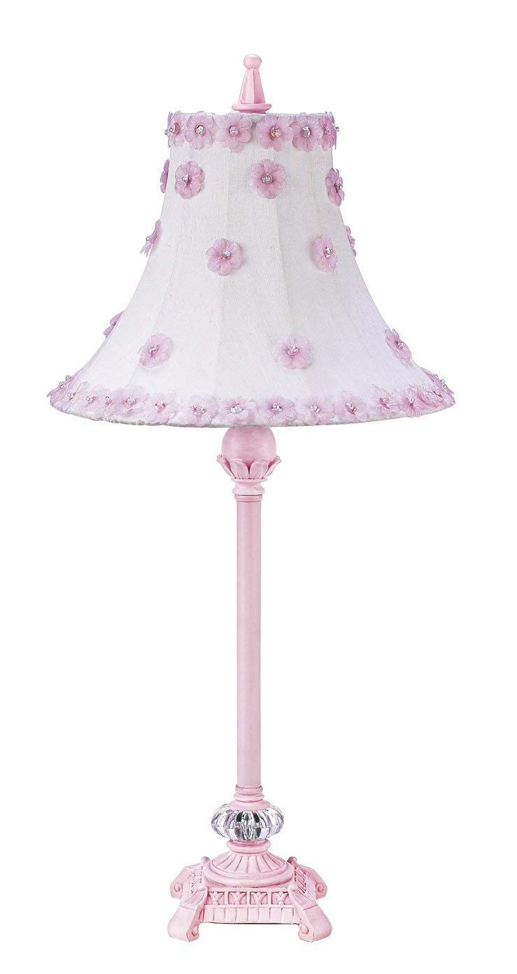 Lamp Base Medium  Glass Ball Pink Bright Idea