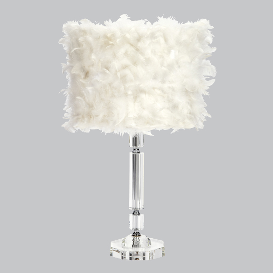 Lamp Base Large Slender Crystal  Bright Idea