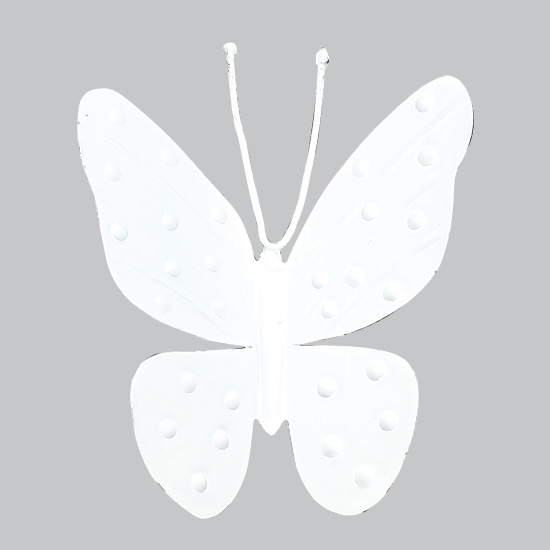 Magnet Butterfly White (Set of Three )