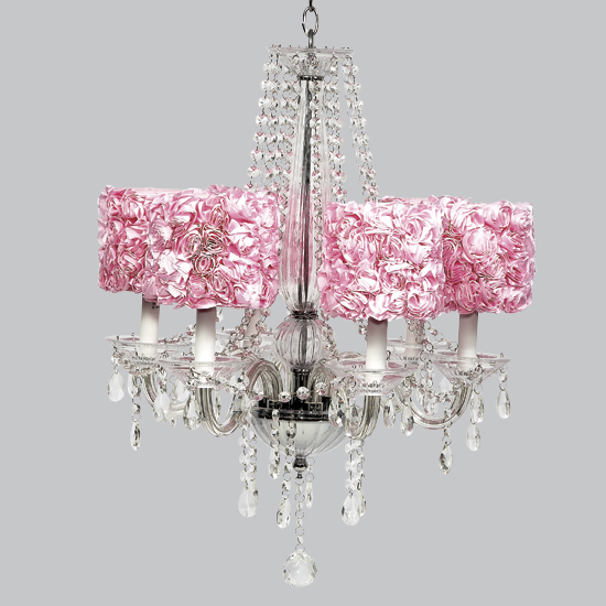Chandelier Middleton 6 Light Glass  Bright Idea